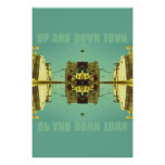 UP AND DOWN TOWN POSTERS