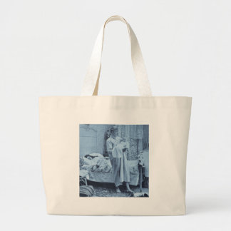 Up at 3 am - Vintage Stereoview Bags