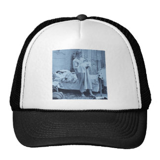 Up at 3 am - Vintage Stereoview Trucker Hat