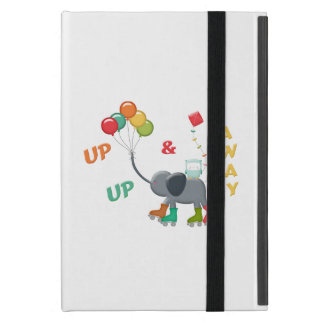 Up & Away Rollerskating Elephant Balloons Cases For iPad Mini