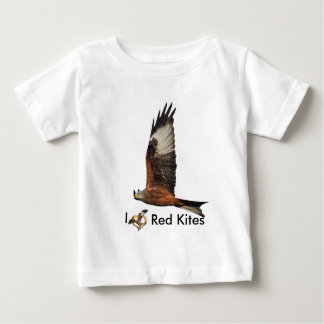 Up Beat Welsh Red Kite Baby T-Shirt