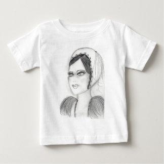Up Close Flapper Baby T-Shirt