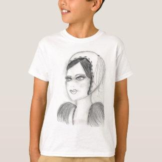Up Close Flapper T-Shirt