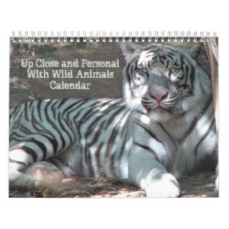 Up Close Wildlife Calendar