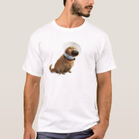 UP   Dug the Dog in Cone of Shame T-Shirt