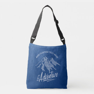 Up For Adventure Mountains ID358 Crossbody Bag