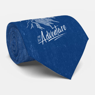 Up For Adventure Mountains ID358 Neck Tie