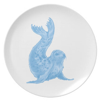 UP FOR FUN DINNER PLATE