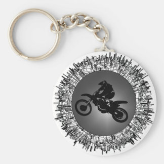 UP FOR MX BASIC ROUND BUTTON KEYCHAIN
