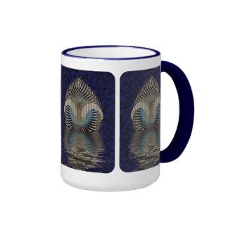 Up From The Ocean Ringer Mug