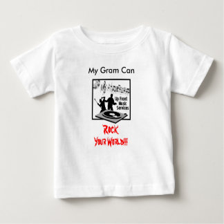 Up-Front-Music-Services-Log-300, My Gram Can , ... Infant T-shirt