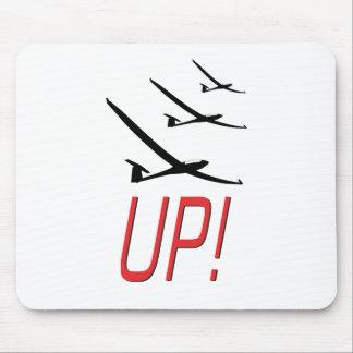 UP !  Glider Sailplane Mouse Pad