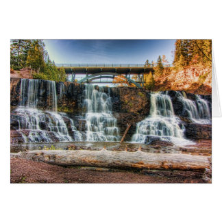 Up Gooseberry Falls Stationery Note Card