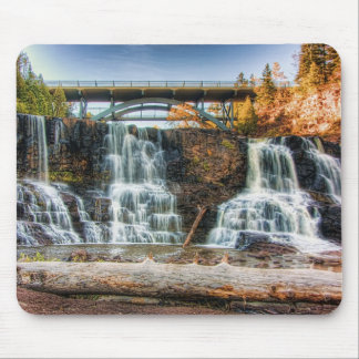 Up Gooseberry Falls Mouse Pad
