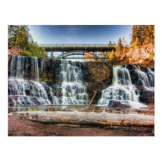 Up Gooseberry Falls Postcard