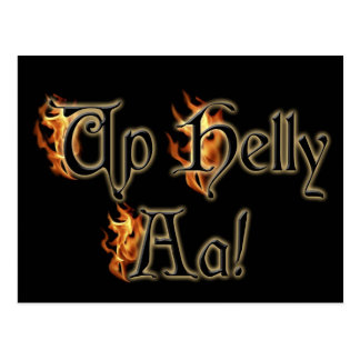 Up Helly Aa Greeting Post Cards