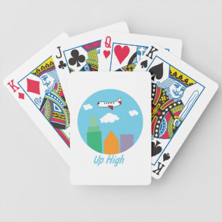 Up High Bicycle Playing Cards