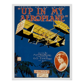 Up in My Aeroplane Poster