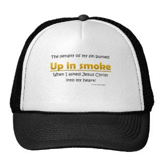 up in smoke trucker hats