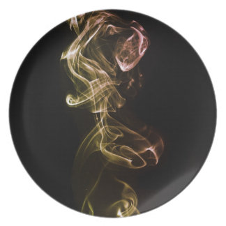 Up in smoke dinner plates