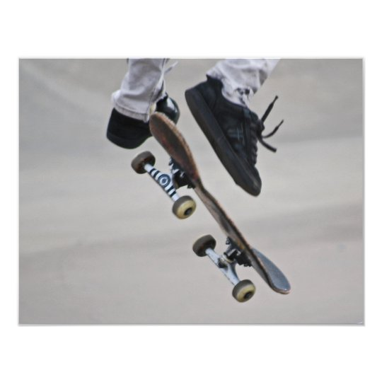 Up In The Air Skateboard Card