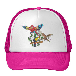 Up in the air they flew trucker hat