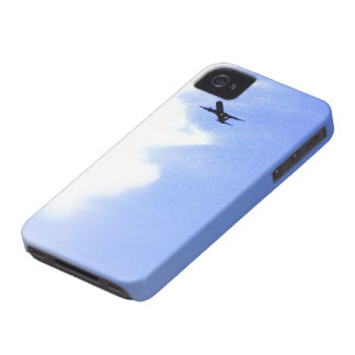 Up in the Blue Sky l In-Flight Airplane iPhone 4 Case