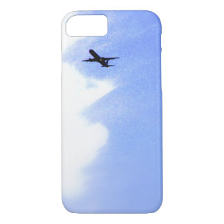 Up in the Blue Sky l In-Flight Airplane iPhone 7 Case