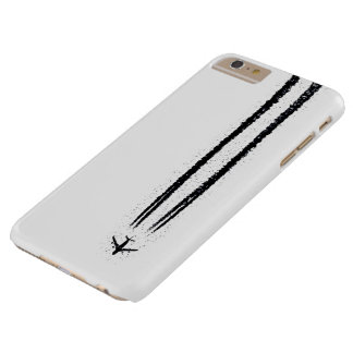 Up in the Sky/High Altitude Airplane Contrail Barely There iPhone 6 Plus Case