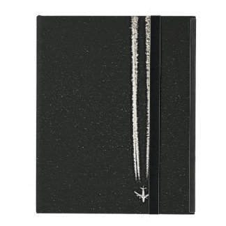 Up in the Sky/High Altitude Airplane Contrail iPad Covers