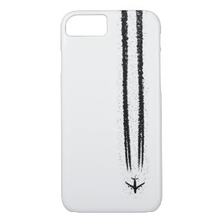 Up in the Sky/High Altitude Airplane Contrail iPhone 8/7 Case