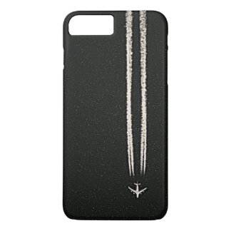 Up in the Sky/High Altitude Airplane Contrail iPhone 8 Plus/7 Plus Case