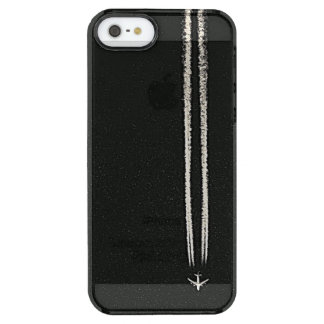 Up in the Sky/High Altitude Airplane Contrail Uncommon Clearly™ Deflector iPhone 5 Case