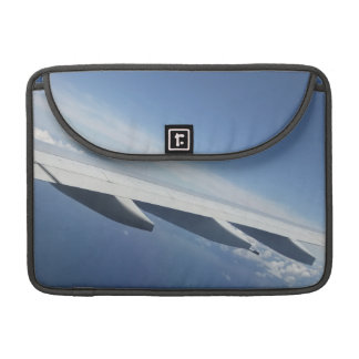 Up in the Sky Window Seat Airplane Wing Sleeves For MacBook Pro