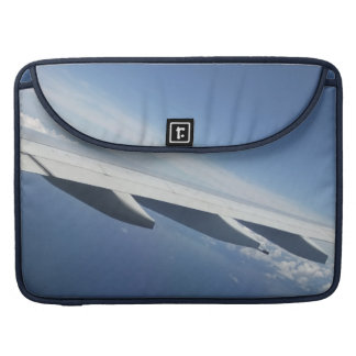 Up in the Sky/Window Seat Airplane Wing Sleeve For MacBook Pro