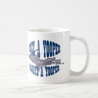 UP Michigan Always Yooper Mug