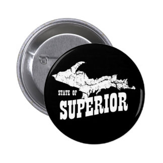 UP Michigan State of Superior Yooper Button 2