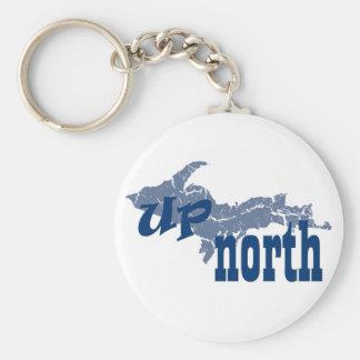 UP Michigan Up North Yooper Keychain