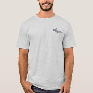 UP Michigan Yooper Mens Grey T-shirt