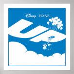 UP Movie Logo - Flat color - Disney Pixar Poster