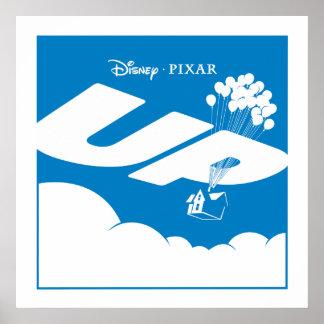 UP Movie Logo - Flat color - Disney Pixar Posters