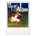 Up n' Atom California Carrots Card