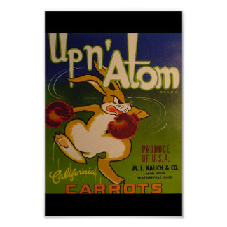 Up N Atom Poster