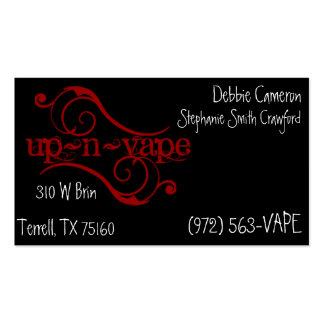 up~n~vape business cards