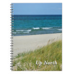 Up North Great Lakes in Summer Journal Spiral Notebooks