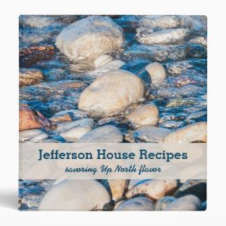 Up North Lake House Recipe Book 3 Ring Binder