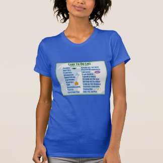 "Up North Lake ""To Do"" List - Michigan & Wisconsin T-Shirt"