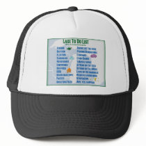 "Up North Lake ""To Do"" List - Michigan & Wisconsin Trucker Hat"