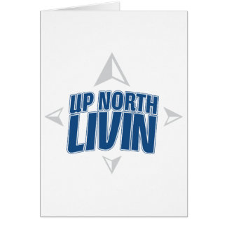 Up North Livin - Compass Card