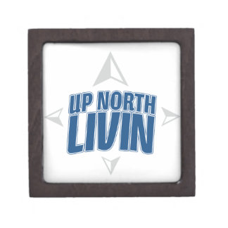 Up North Livin - Compass Jewelry Box